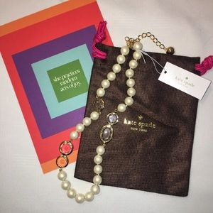 NTW Kate Spade Pearlscent Baubles Necklace